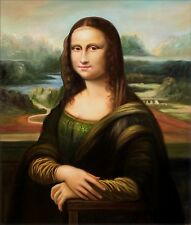 Quality Hand Painted Oil Painting Repro Leonardo da Vinci's Mona Lisa  20x24in
