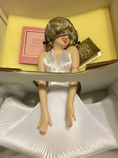 "Franklin Mint Marilyn Monroe Porcelain Heirloom Doll ""7 Year Itch"""