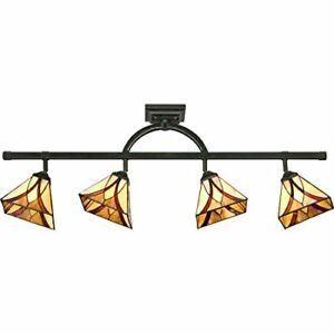 Quoizel TFAS1404VA 4-Light Asheville Track Light in Valiant Bronze