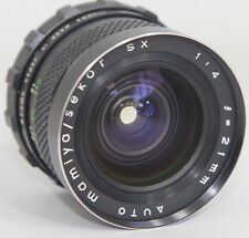MAMIYA SEKOR SX 21/4 21mm f4 ULTRA WIDE LENS M42 SCREW MOUNT FOR PENTAX