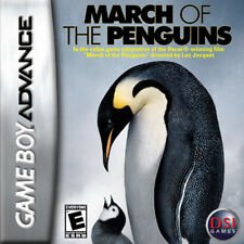 March of the Penguins GBA New Game Boy Advance