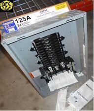 NIB SQUARE D QO324L125G 125 AMP THREE PHASE N1 INDOOR LOAD CENTER 24 CKT W/COVER