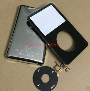 Front cover + Back Cover + Click Wheel+button for iPod Video  5.5th Gen 80GB