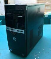HP 500B MicroTower Destkop PC Intel Pentium E5500 @2.80GHz 4GB RAM NO HDD NO OS