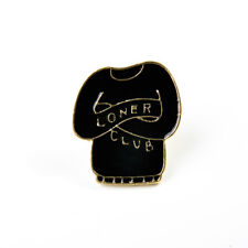 1Pc Lovely Alloy Hard Enamel Punk Skull Brooch Badge T-shirt Collar Pins Jewelry