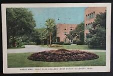 Hardy Hall Gulf Park College West Beach Gulfport Miss 1942 Gulport Printing Co