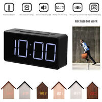 Electronic Digital LED Display Table Clock Night Light Temperature Alarm Clocks