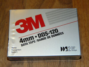 3M DDS-120 4mm 120M Cartridge DDS2 Data Tape neu in Folie