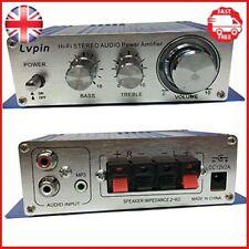 EARLYBIRD SAVINGS 12V Audio Amplifier - Mini Hi-Fi amplifier Mini Hi-Fi Audio