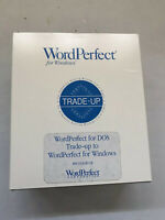 """Vintage WordPerfect For Windows 5.1 With Two Sets Of 3.5"""" Disks All Manuals"""