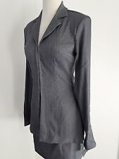 Mandee 2 Pices Skirt Suite , Long Slevees Jacket , Blue , Size 5 , New with tags