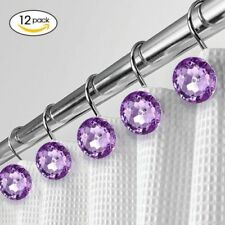Purple Shower Curtain Hooks For Sale