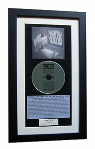 MUSE Drones LTD CLASSIC CD Album GALLERY QUALITY FRAMED+EXPRESS GLOBAL SHIP