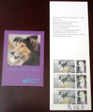 Faroe Stamp Booklet #04 1994 Lassie Collie Shepherd Dog - Fdc - Excellent!