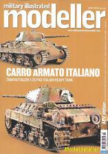 Military Illustrated Modeller 46 Carro Armato Italiano Soldering Normandy Flak