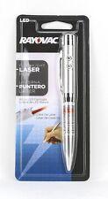 Rayovac Led Flashlight Laser Pen - Brand new in packaging