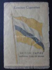 NATIONAL FLAG OF BRUNEI - BRITISH EMPIRE SILK FLAGS L48 Kensitas/Wix 1934
