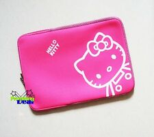 "Hello Kitty Sleeve Case Laptop Bag 4 14"" 14.1""Macbook Black"