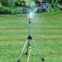 Lawn Garden Yard Grass Metal Impulse Spike Water Watering Sprinkler Sprayer NEW