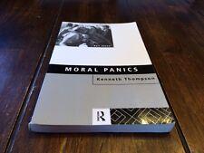 Key Ideas Ser.: Moral Panics by Kenneth Thompson (1998, Paperback)