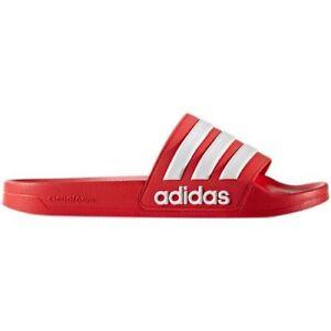 Adidas Men's Adilette Slides / Sandal Shoe Navy Red Black or White