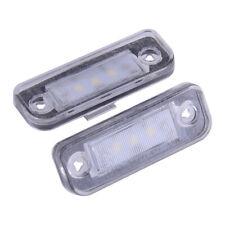 Set LED SMD Kennzeichenbeleuchtung für Mercedes Benz W203 W211 W219 R171 SLK CLS