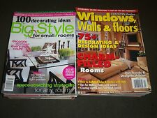 1990'S-2000S ASSORTED DECORATING MAGAZINES LOT OF 29 - NICE PHOTOS - R 90