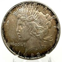 1922-P Peace Dollar - Detached Olive Branch - Great Strike VAM Coin.