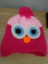 girls owl hat NEW great gift idea or raffle / tombola prize L@@K
