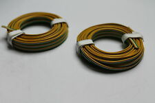 Modellbahnlitze 3-adrig, 0,14; 5 m Ring; gelb/weiß/grün; 2 Stück; neu