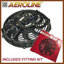 """12"""" Aeroline ® 120w 12v Radiatore Elettrico Ventilatore Di Raffreddamento PUSH PULL PER AUTO D'EPOCA"""