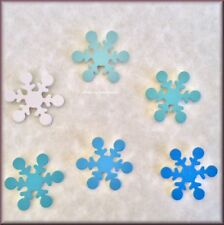 Snowflake Ombré Metal Magnets Set of 6 by Roeda® Free U.S. Shipping