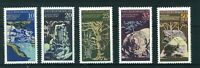 East Germany 1977 Natural Phenomena full set of stamps. Mint. Sg E1918-1922.