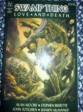Swamp Thing TPB Love & Death 1st PRINT Alan Moore Wrightson Bissette DC 1990 NM
