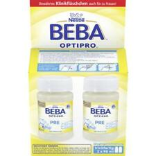 2 x 90ml Nestle BEBA OPTIPRO PRE Infant Formula - ready to drink from birth NEW