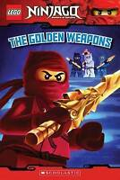 The Golden Weapons (Lego Ninjago: Masters of Spinjitzu) by West, Tracey, NEW Boo