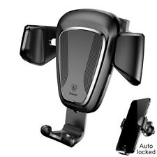 Baseus Gravity Car Air Vent Phone Mount Holder For Universal phone iPhone GPS