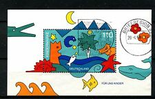Germany 1998 SG#MS2843 For Us Children Used M/S #A25231