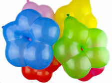 Cute 6 Inch Latex Balloon Flower Shape Party Wedding Birthday Decor - Pack of 50