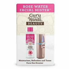 Guru Nanda Facial Mister Rose Water Natural Mist Spray NEW Atomizer Moisturizer