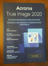 ACRONIS TRUE IMAGE 2020 5 Computers / Devices New Sealed Box Ships FAST 3 Day !!