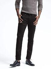 Brand New Banana Republic Men's Slim Black Rinse Jean #303938 Size 33x30