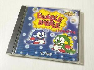 Taito PC Windows 98 XP BUBBLE BOBBLE Genuine Japan 0314A29