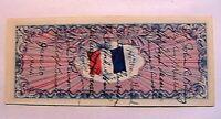 June 20 1944 France 50 Francs SHORT SNORTER Choice AU 11 US Soldiers Sigs Note