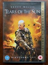 Tears of the Sun DVD 2003 ActionWar Movie w/ Bruce Willis Director's Cut Version