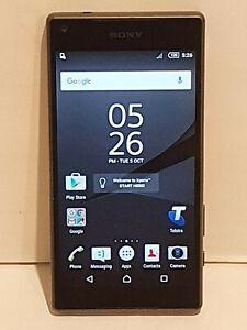 Sony Xperia Z5 Compact 32GB 4G Smartphone Graphite Black *Near Mint Condition*