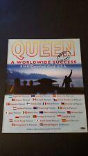 "Queen "" Made In Heaven "" 1996 Rare Original Print Promo Poster Ad"