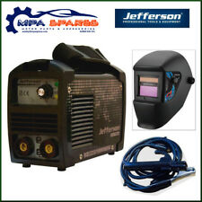 JEFFERSON 140AMP MINI ARC WELDER WITH AUTO WELDING & GRINDING HELMET (230V)