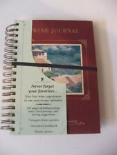 New Wine Journal New Seasons Tasting Notes Elastic Closure Reference Dividers