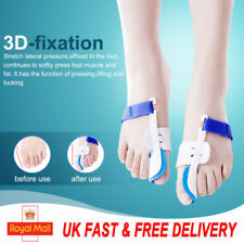 1Pair Big Toe Bunion Foot Care Hallux Valgus SPLINT Straightener CORRECTOR Pad